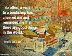 Vincent Van Gogh, born on this date in 1853 --   https://www.facebook.com/shelfawareness/photos/a.142457229119673.18879.136634229701973/1140908835941169/?type=3