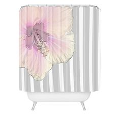 Deb Haugen kaneohe hibiscus Shower Curtain | DENY Designs Home Accessories