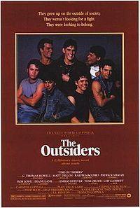 C. Thomas Howell, Rob Lowe, Emilio Estevez, Matt Dillon, Tom Cruise, Patrick Swayze, Ralph Macchio, and Diane Lane.