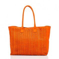 // orange tote