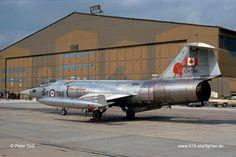 "RCAF CF-104 ""Starfighter""."