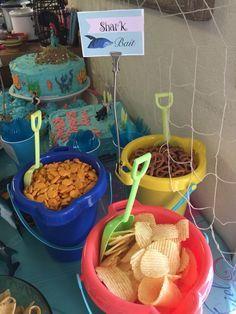 Shark bait! Little Mermaid - Ariel birthday party ideas