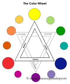 Color Wheel from Montessori Print Shop
