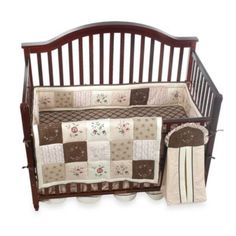 For a girl: Julia 6-Piece Crib Bedding Set by Kids Line™ - buybuyBaby.com
