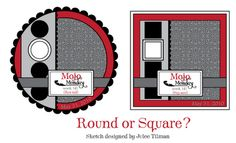 Mojo Monday #141 - Round or Square