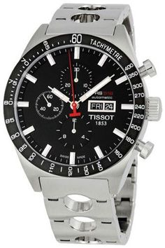 Tissot Men's T0446142105100 T-Sport PRS516 Automatic Black Day Date Dial Watch | Your #1 Source for Watches and Accessories