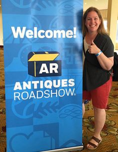 Katie got to go on ANTIQUES ROADSHOW! So of COURSE I asked her to blog about it
