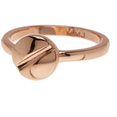 Marc by Marc Jacobs Screw Ring ($20) ❤ liked on Polyvore featuring jewelry, rings, rose gold, red gold jewelry, red gold ring, marc by marc jacobs, marc by marc jacobs jewelry and pink gold rings