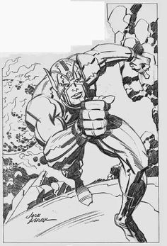 Cap'n's Comics: New Gods #1 by Jack Kirby