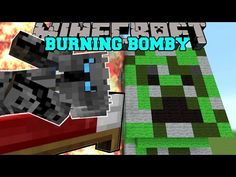 Minecraft: BOMBY IS BURNING! (THERE IS NO ESCAPE FROM BOMBY!!) Mini-Game - YouTube