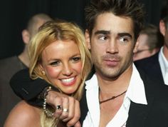 59e5322d6553b Britney Spears with Colin Farrell at the premiere of