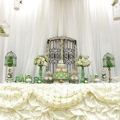 Lambs cake table