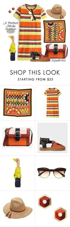 """""""Step into Summer: Espadrilles"""" by ysmn-pan ❤ liked on Polyvore featuring Emilio Pucci, Paul Smith, Topshop, Oliver Peoples, Scala, Mark Davis, contest and espadrilles"""
