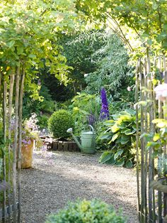 Durchgang in den Garten