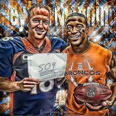 Another record broken. Broncos Stadium, Go Broncos, Denver Broncos Football, Broncos Fans, Football Is Life, Football Season, Vol Nation, Terrell Davis, Eric Decker