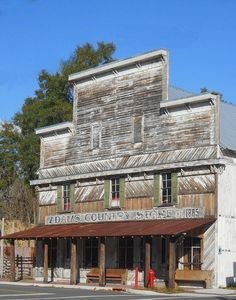 Old Country Store Photograph by Judy Hall-Folde - Old Country Store . Old General Stores, Old Country Stores, Country Life, Old Abandoned Buildings, Abandoned Places, Building Front, Small Buildings, Country Scenes, Back Road