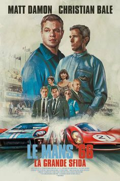 Ford v Ferrari is truly about Miles and Shelby's journey. And, you don't have to be a car fanatic to enjoy this film. Cult Movies, Comedy Movies, Romance Movies, 2020 Movies, Matt Damon, Le Mans, What To Watch Movies, New Upcoming Movies, Ken Miles