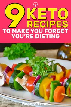 The good thing about the ketogenic diet is that it gives you a lot of food options. These options will have you forgetting that you're even dieting. Here are 9 keto recipes that are going to make you forget you're on a diet. Ketogenic Diet Weight Loss, Ketogenic Diet Meal Plan, Ketogenic Recipes, Diet Recipes, Healthy Recipes, Diet Meals, Vegetarian Recipes, Diabetic Recipes, Easy Recipes