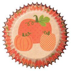 Pumpkin Cupcake Liners