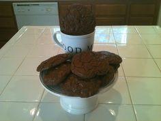 Double Fudge Espresso Cookies