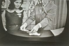 Carole Scaldeferri in an old kinescope from the TV Screen in the late 1950s