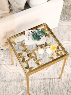 Rosalie Butterfly Side Table from Affordable Furniture for Every Room on Gilt