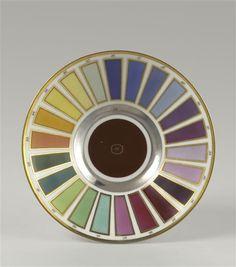 Soucoupe : palette des couleurs