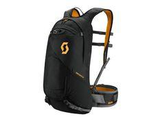 SCOTT Backpack Pack Trail Protect FR 12   caviar black/zinnia orange