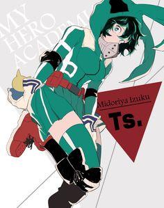 Midoriya Izuku (Female Version) || Boku no Hero Academia