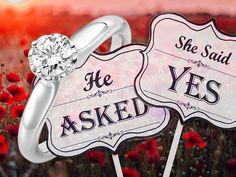 """🌺🌼🌸 Onze Platina collectie wordt steeds verder uitgebreid❣️  Wij willen u graag deze schitterende verlovingsring voorstellen Wie van u zou graag """"ja"""" zeggen tegen deze ring? 😉  www.123gold.nl/artikel/A-1171-9.html"""