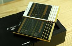 Goldgenie Blackberry Passport Wrapped In Precious Metals – Your Choice Gold, Rose Gold Or Platinum