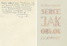 Bilderesultat for krzysztof kamil baczyński rekopis