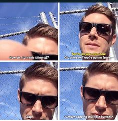 @jensenackles is a living meme chapter 2 Caps from itsoksammy.tumblr.com gif set