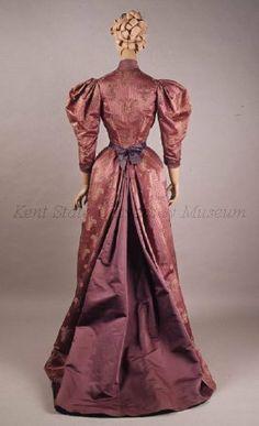 Old Rags - Dress, ca 1893 Paris, Kent State