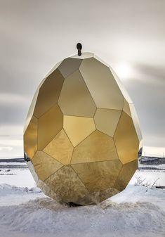 Solar Egg, Kiruna, 2017 - Bigert & Bergström Sweden