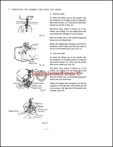 kenmore 36 sewing machine manual