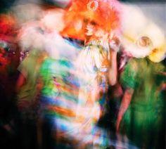 Galliano backstage shot by Mark Leibowitz