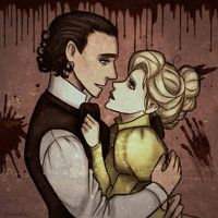 Crimson Peak by Scribblerb