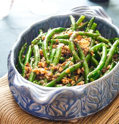 green beans with walnuts and balsamic - Healthy Seasonal Recipes