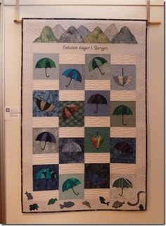 From The Norwegian Quilt Association. Lots of beautiful and unusual quilts.
