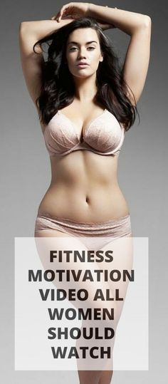 Inspiring fitness motivation video that all women should watch. #fitness #health #workout