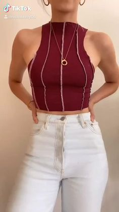 Ropa Upcycling, Mode Outfits, Fashion Outfits, Diy Clothes Design, How To Make Clothes, Making Clothes From Old Clothes, Diy Fashion Hacks, Diy Clothes Refashion, Diy Kleidung