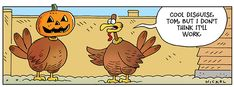 45 Funny Thanksgiving Day Jokes and Comics