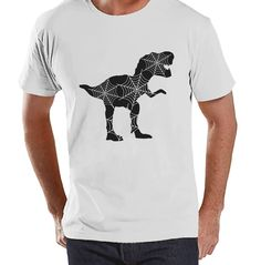 Men's Halloween T-Shirt - Adult Halloween Costume - Spider Web Dinosaur Happy Halloween Mens White Tshirt - This shirt is perfect for celebrating this Halloween! #funnytshirts #whitetshirt #halloweentshirt #menstshirt #costumetshirt Dinosaur Halloween, Adult Halloween, Halloween Gifts, Happy Halloween, Halloween Costumes, Mens Halloween Shirts, Novelty Shirts, Birthday Party Outfits, T Shirt Costumes