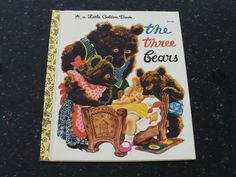 A Little Golden Book The Three Bears 30153 C.R. by booksvintage, $5.95