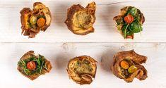 Αλμυρά cupcakes με φύλλο κρέπας από τον Άκη Πετρετζίκη. Συνταγή για τα πιο νόστιμα και μαλακά cupcakes από φύλλο κρέπας με μοσχαρίσιο κιμά και μοτσαρέλα!