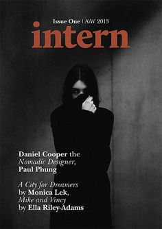 Intern – a magazine concerned with internships in the creative industries.