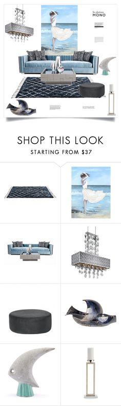 """Windy Beach"" by ildiko-olsa ❤ liked on Polyvore featuring interior, interiors, interior design, home, home decor, interior decorating, Maxim, Broste Copenhagen, Zuo and Bitossi"