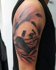 100 PandaBär Tattoo Designs für Männer  Manly InkIdeen  Tattoos  Ideen