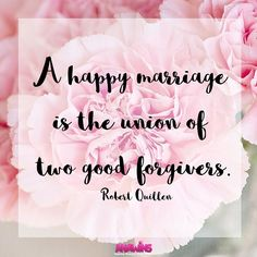 A #happy #marriage is the union of two good forgivers. 🎀 • • #truth #hope #encouragement #inspiration #grace #faithblogger #christian #christianblogger #mommyblogger #lifestyleblogger #blog #happilymarried #happywife #blessedwife #truelove #love #younglove #husband #happyhusband #blessedhusband #inlove #marriagequotes #quotes #quotes #quotestoliveby #inlove #love #lovequotes #motivationalquote #happilyeverafter